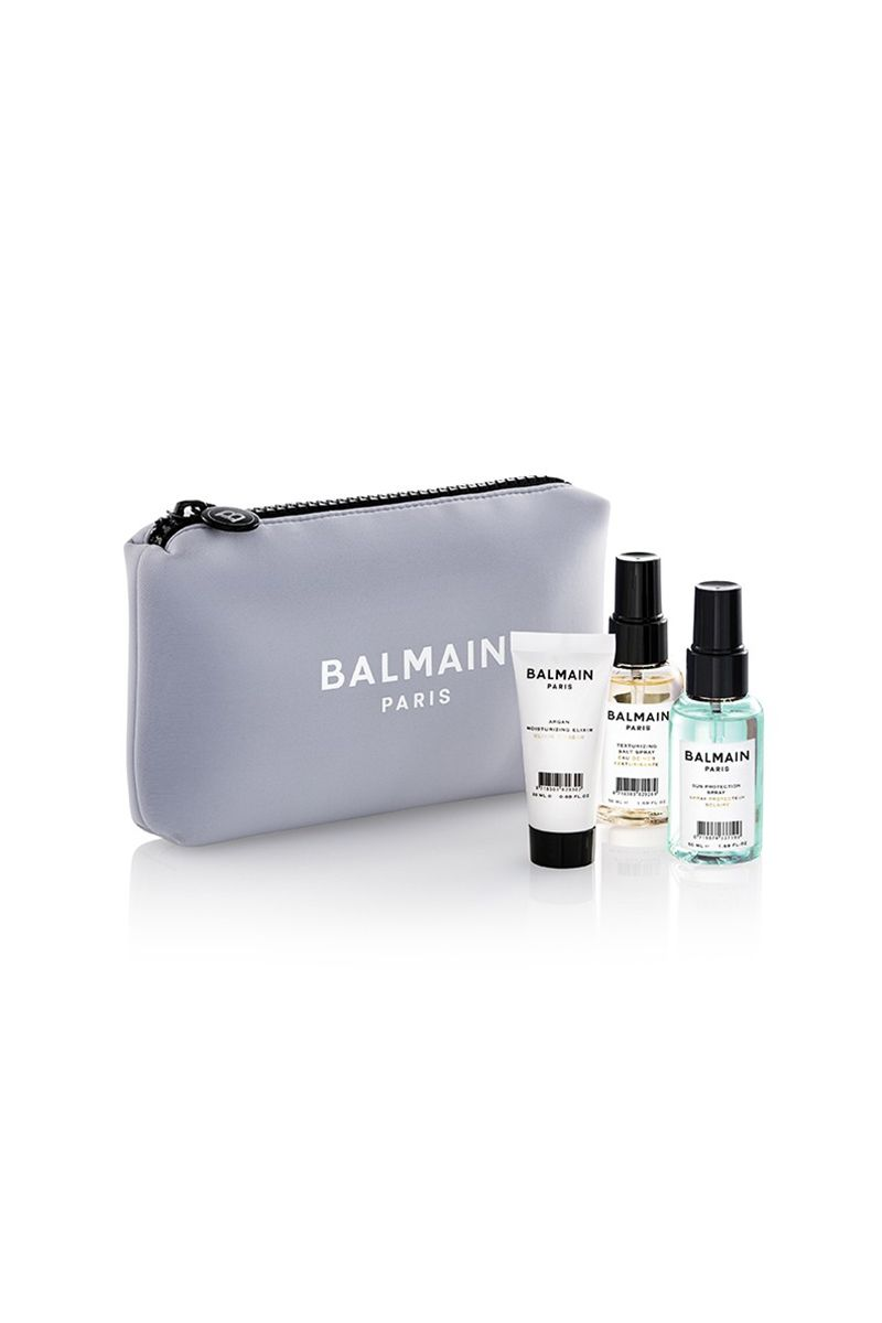 Balmain Limited Edition Cosmetic Bag Lavender