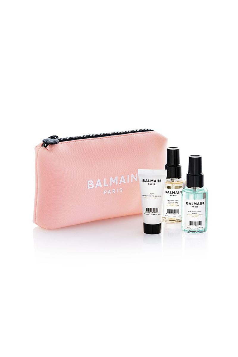 Balmain Limited Edition Cosmetic Bag Pink